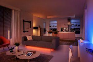 LED im Wohnzimmer