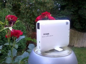 Der dLink Dir-506 als Repeater im Garten