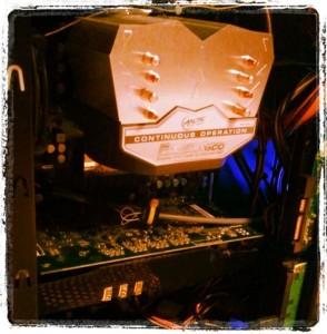 Innenleben PC - PC Komplettsystem