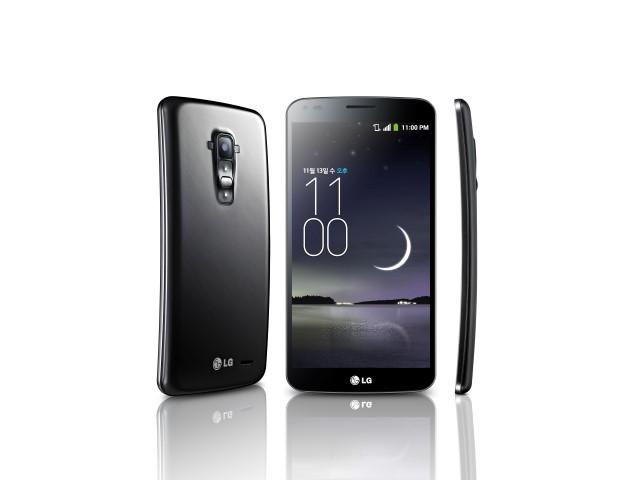 Das LG G Flex (Quelle: LG)