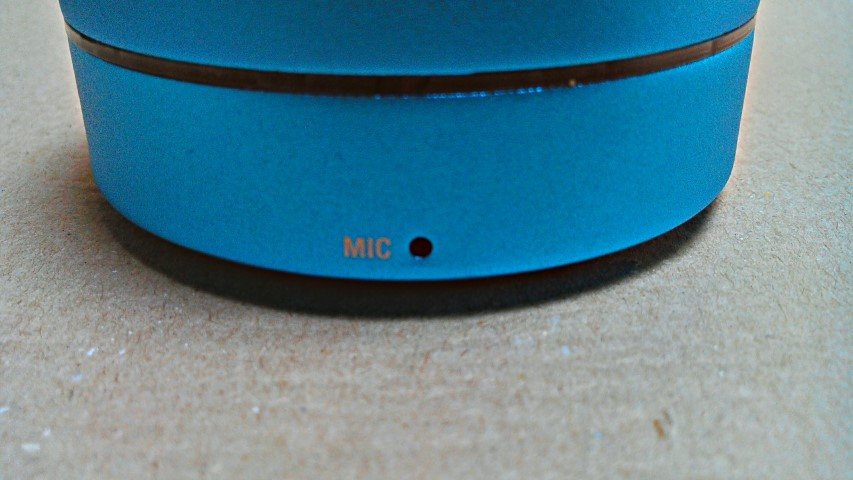 Das eingebaute Mikrofon