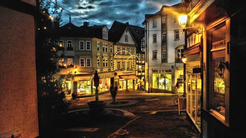 Wetzlar Eisenmarkt in HDR
