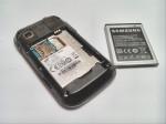 Ausgebauter Smartphone Akku Samsung S8500