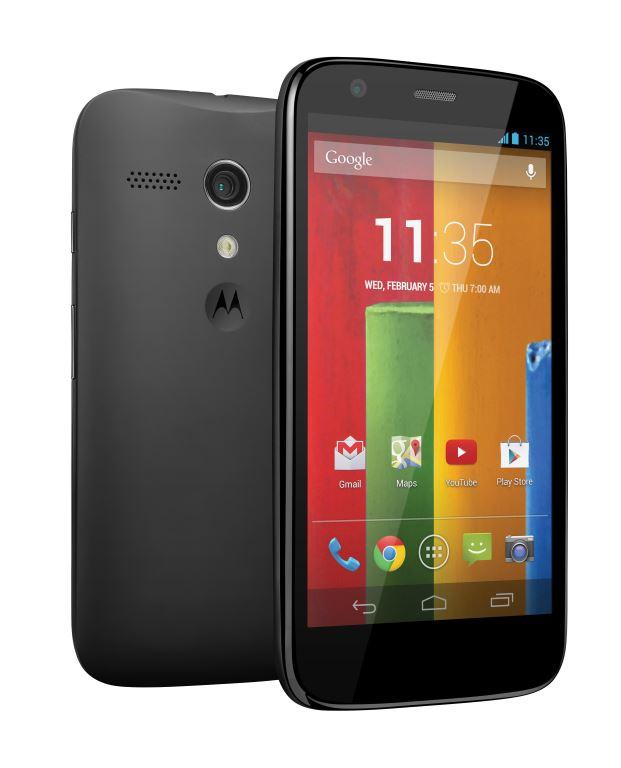 Das Moto G (Quelle: Motorola)