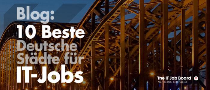Das IT Job Board verzeichnet über 4000 IT Jobs in Deutschland. Hier klicken, um mehr über diese freien Stellen zu erfahren.