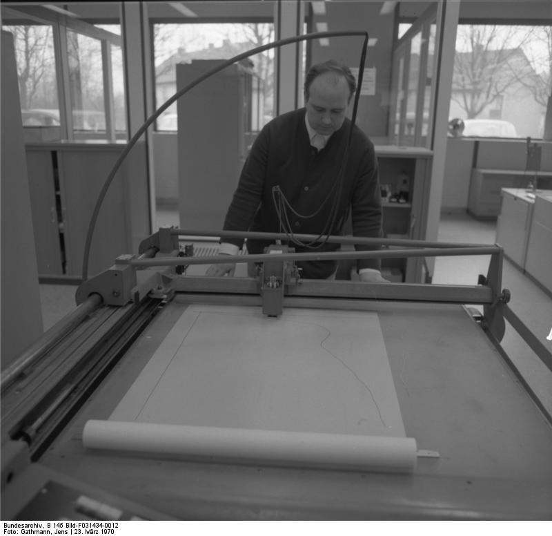 Bundesarchiv B 145 Bild-F031434-0012, Aachen, Technische Hochschule, Rechenzentrum | CC-BY-SA-3.0-de