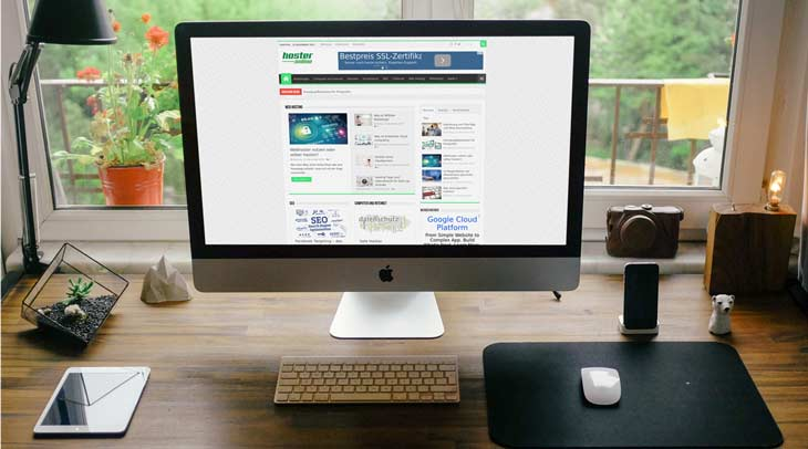 hoster.online: Magazin zum Theme Wordress, Bloggen, Internet und Technik