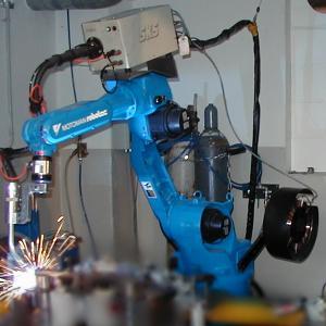 Industrieroboter - Maschinendatenerfassung
