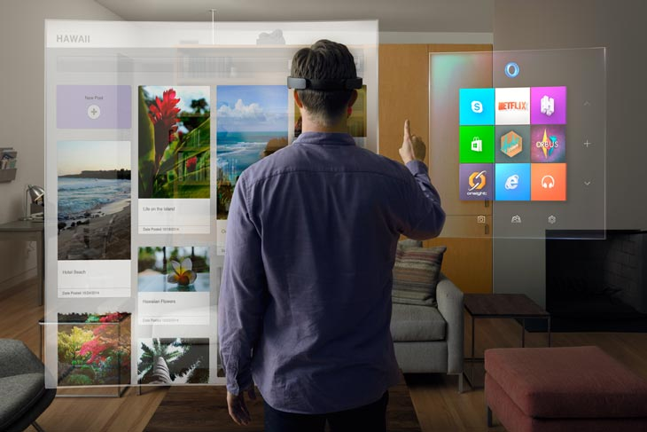 Microsoft Hololens Cortana Techblog