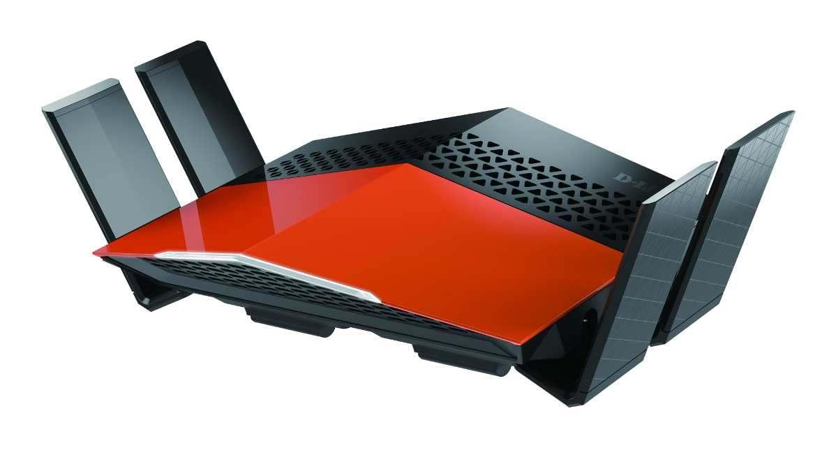 EXO Router DIR-869, Seitenansicht