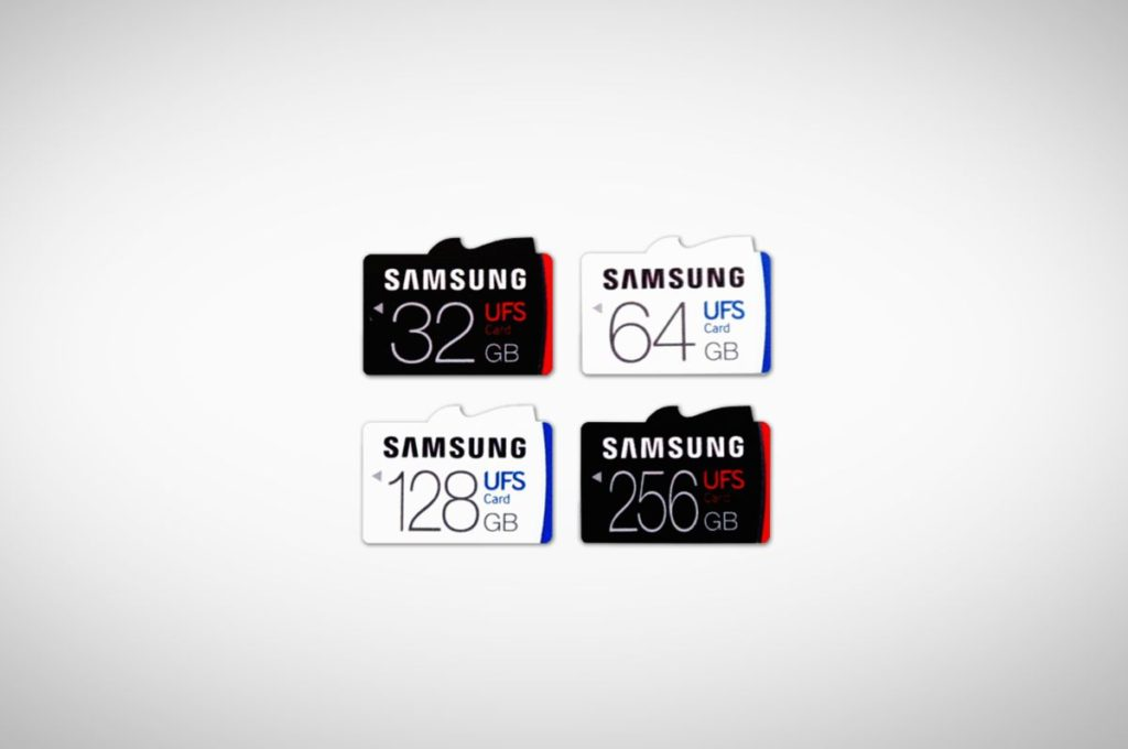 Samsung Universal Flash Storage Card