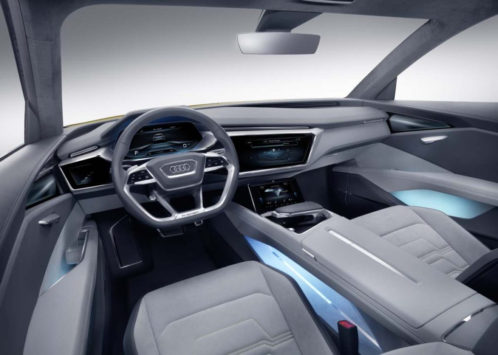 Innenraum des Audi h-tron quattro concept (Bild: AUDI AG)