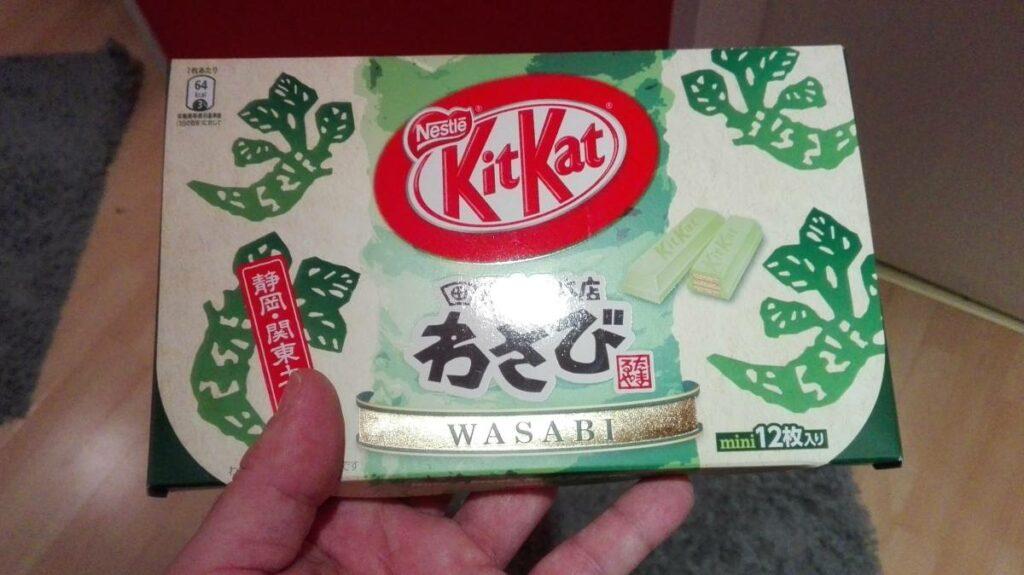 Japanisches Wasabi Kitkat