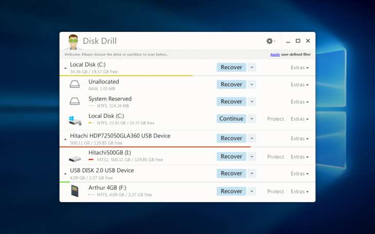Disk Drill Datenrettung