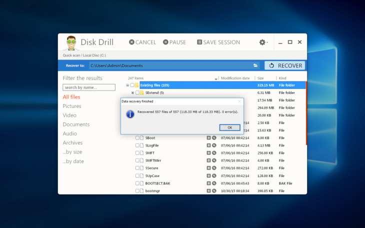 Disk Drill Datenrettung Tool