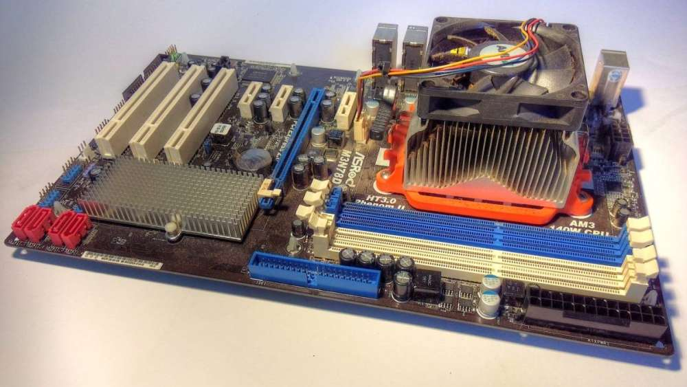 Mainboard - onboard Netzwerkadapter
