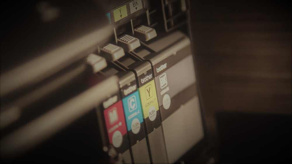 Druckertinte, Tintenstrahldrucker, Druckerarten