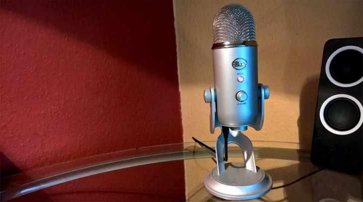 Audioaufnahmen mit dem PC und Kondensatormikrofon