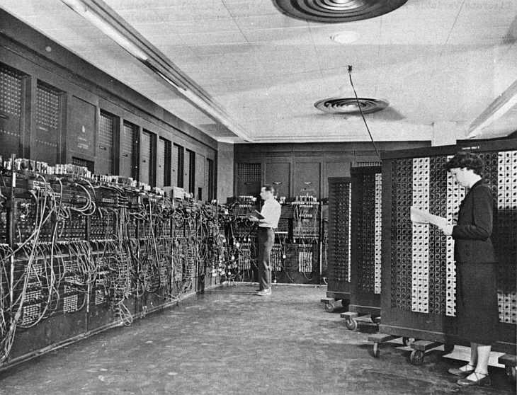 Erster Computer - Eniac
