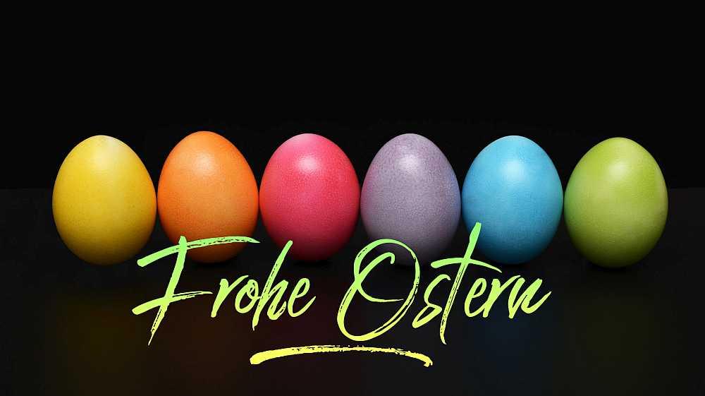 Frohe Ostern wünscht Addis Techblog