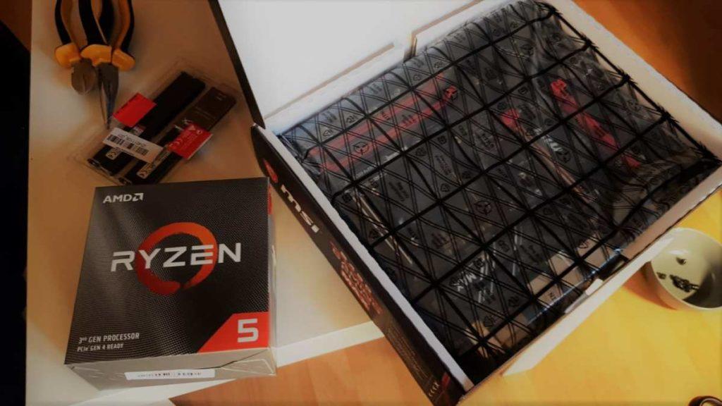 AMD Ryzen, RAM und MSI Mainboard