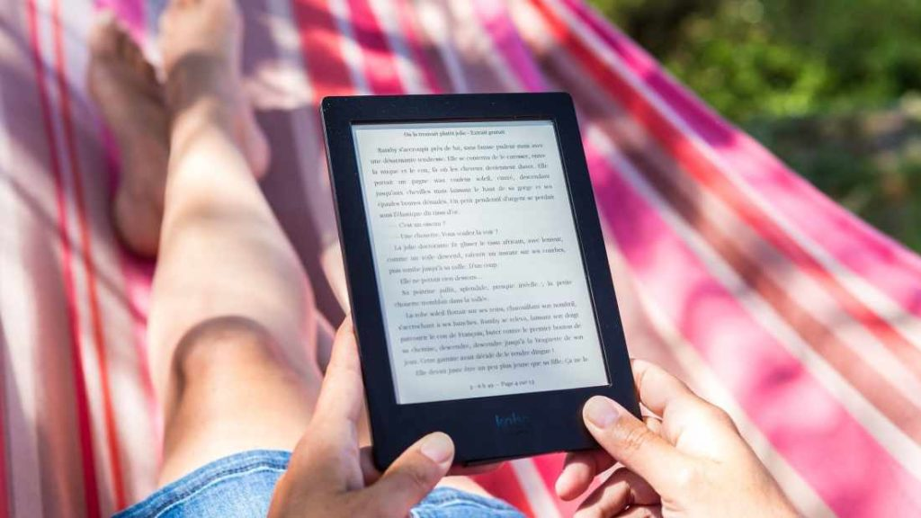 eBook Reader mit eInk Display