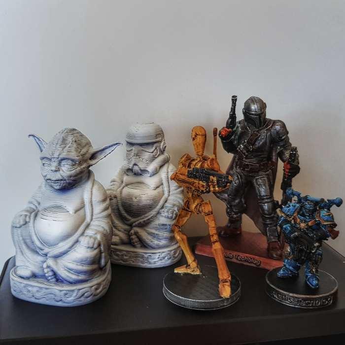 3D Druck - gedruckte und bemalte Figuren