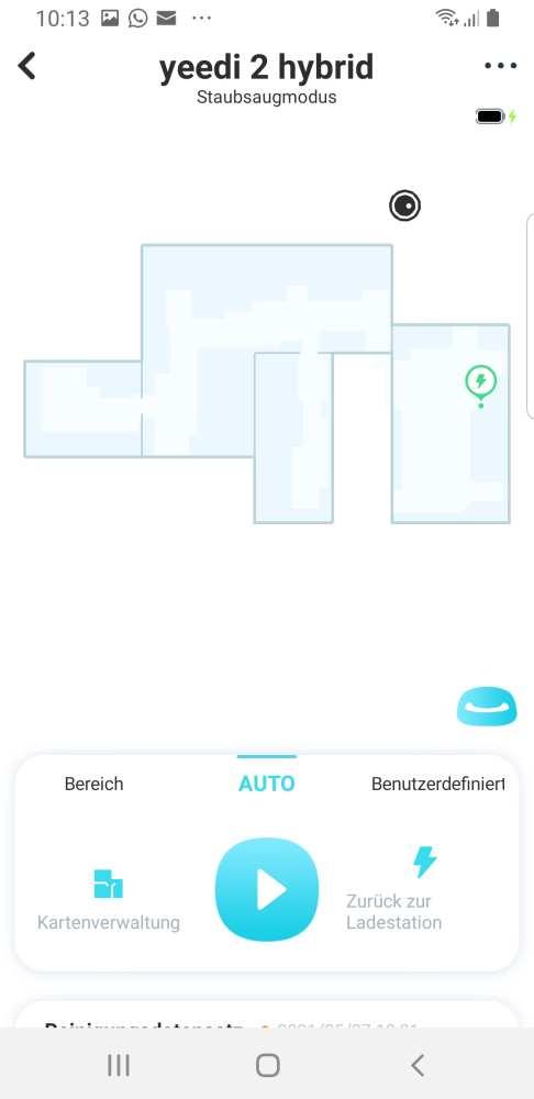 Die Yeedi 2 Hybrid App